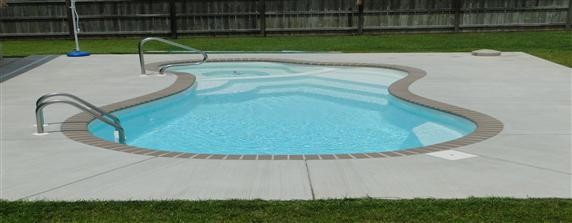 Extra large small fiberglass pools san juan pools for Small pools for sale